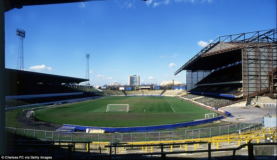 North Stand - Stamford Bridge in the old days - Chelsea Headhunters